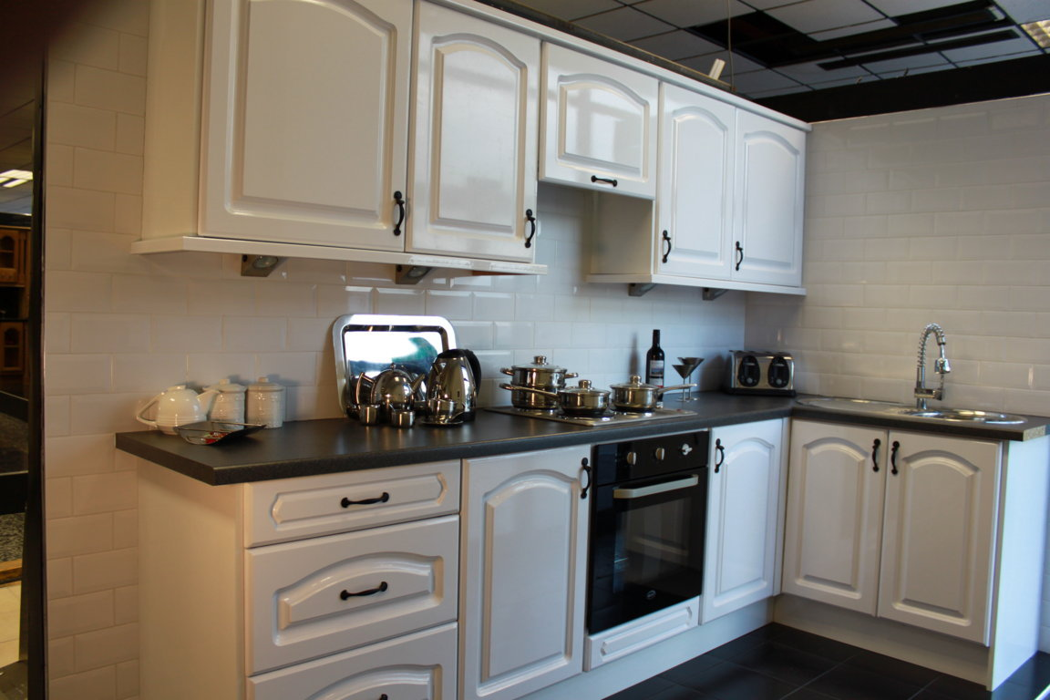Sale On This White High Gloss Kitchen